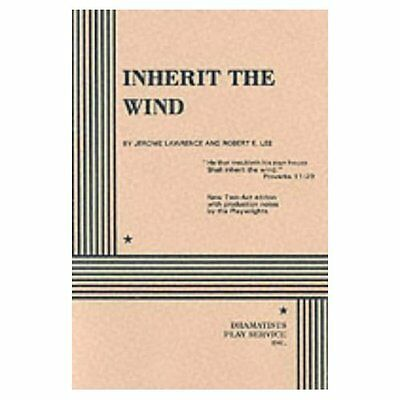 Inherit the Wind Lawrence, Lee Josef Weinberger Plays PB / 9780822205708