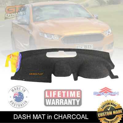 DASH MAT FORD Falcon FG-X XR6 XR8 G6E XR6 Turbo in Charcoal DM1255 FGX