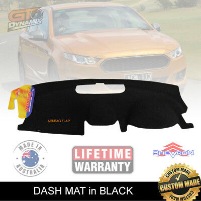 DASH MAT FORD Falcon FG-X XR6 XR8 G6E XR6 Turbo in BLACK DM1255 FGX
