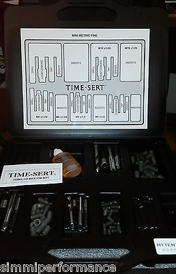 WURTH TIME SERT MINI MASTER KIT M6 M8 M10 THREAD REPAIR Tap Drill Tool Inserts