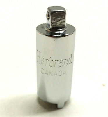 "Vintage Herbrand 1/4 Gland Nut Socket RF-73, 5/8 Opening ""MADE IN CANADA"""