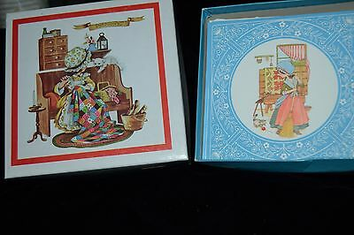 Lot of 2 Boxes Vintage Greeting Cards Colonial Girls Little Betsey Dear Hearts