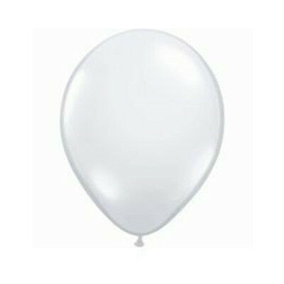 """Party Supplies Wedding Birthday 12cm/5"""" Diamond Clear Latex Balloons Pack of 10"""