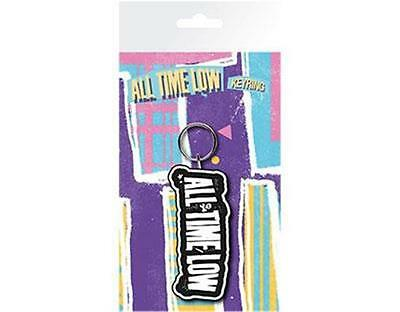 Official Licensed - All Time Low - Logo Keychain Punk Pop
