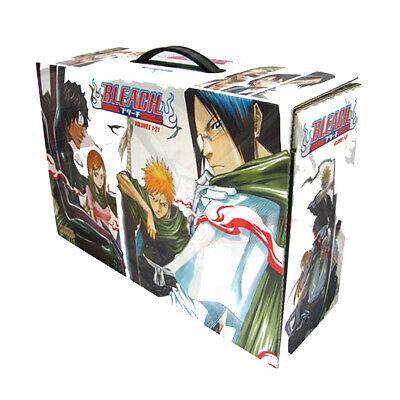 Bleach Box Set 1: Volumes 1-21 Complete Collection Set by Tite Kubo Paperback UK