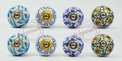 16 pieces Beautiful Multi color Kitchen/dress Ceramic Knobs Cupboard drawer Pull