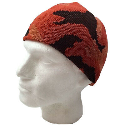 CAMO BEANIE Hat Winter Ski Army Military Camouflage Hunter Hunting Cap Warm