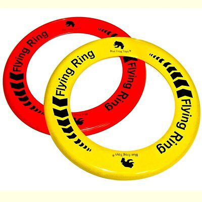 2 Flying Rings - Fun Outdoor Summer Toys - Frisbee Type Toys