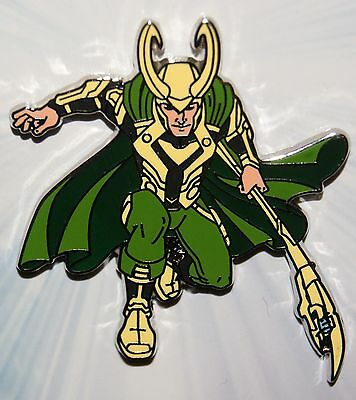 Disney Marvel Avengers Loki Pin Age of Ultron NEW on Card