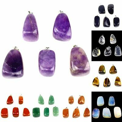 Wholesale Assorted Natural Irregular Stone Pendant ,DIY For Necklace Jewelry