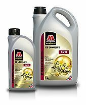 Millers Oils EE LONGLIFE 5w30  fully synthetic high performance 5 Litre