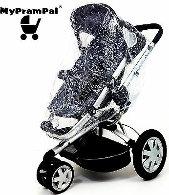 My Pram Pal® Universal Raincover compatible To Fit For Mothercare Orb Rain Cover
