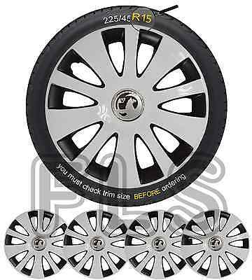 "VAUXHALL BADGED 15"" WHEEL TRIMS HUB CAPS COVERS BRAND NEW SET OF 4 – Vauxhall 2"