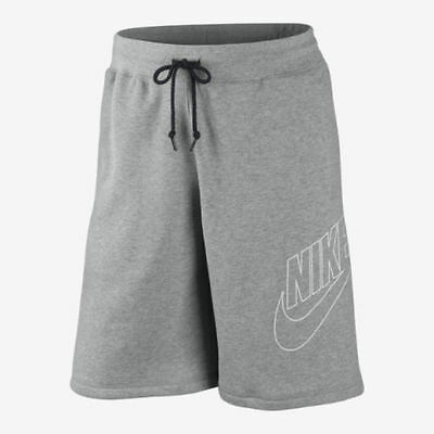 Nike Fleece Knee Length Jogger Summer Shorts Swoosh HBR Explode Sports Mens New