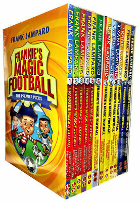 Frankie's Magic Football Series 1 & 2 Collection Frank Lampard 12 Books Set Pack