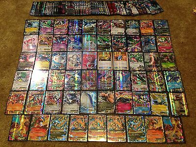 Pokemon Card Lot! Pokemon TCG : 50 CARDS : GUARANTEED EX, MEGA, GX, OR FULL ART