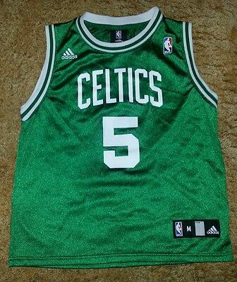 40151f100770 Green Adidas Kevin Garnett   5 Boston Celtics NBA Jersey Size Medium 10-12
