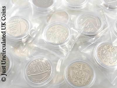 Brilliant Uncirculated 20p Coins 1988 to 2016 – Twenty Pence Royal Mint - UK