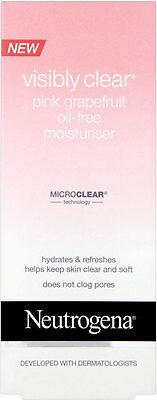 Neutrogena Visibly Clear Pink Grapefruit Oil-Free Moisturiser (50ml)