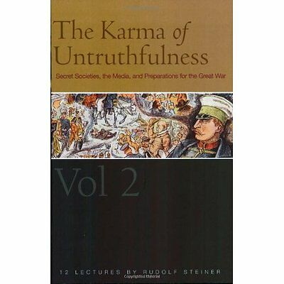 Karma Untruthfulness Pt. 1 v. 2 Steiner, Collis Rudolf Press PB / 9781855841918