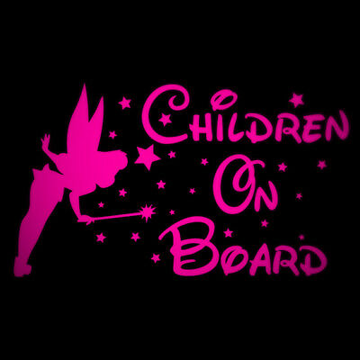 2x Baby On Board Yellow Car Sticker Children Decal  Driving Window #a0000253