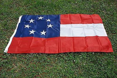 1ST NATIONAL FLAG / HISTORICAL / 3x5 ft,/with grommets,poly