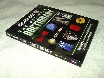 Book Hardback Doctor Who The Doctionary