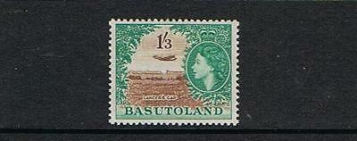 STAMPS  from  BASUTOLAND  1954 Q. ELIZ. 1/3  (MINT - HINGED)  lot (A 51)