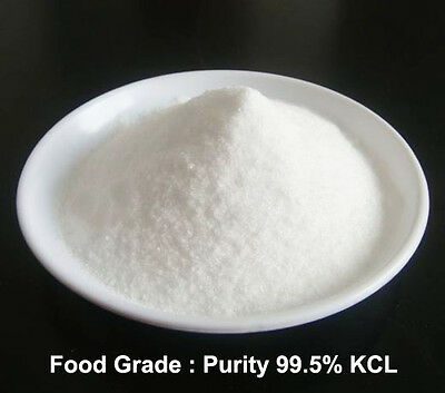 1 oz  KCl - Food Grade Potassium Chloride  E508 , salt substitute - Vegan,
