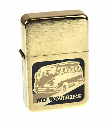 Bomblighter - Volkswagen Camper - 'No Worries' Windproof Lighter