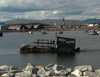 40ft x 14ft Steel Barge for Dredge Nome - Reduced 4/2/17