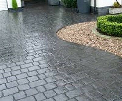 coloured concrete driveway sealer, imprinted concrete coloured sealer