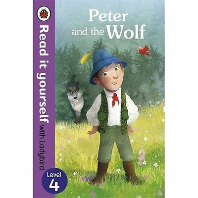 Peter Wolf-Read it Yourself with Ladybird Level 4 Books Paperback. 9780723280675