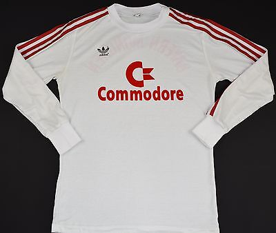 1984-1989 Bayern Munich Adidas Away Football Shirt (Size M)