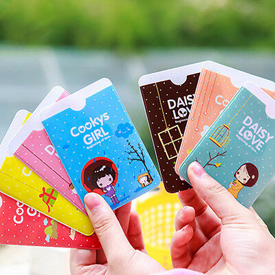 New Lovely Cookys Girl Business ID Credit Card Pocket Bag Wallet Holder 3PCS CN