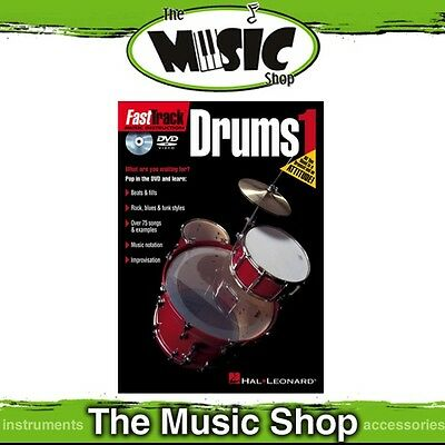 Fasttrack Drums 1 DVD - Fast Track Drumming Tuition DVD