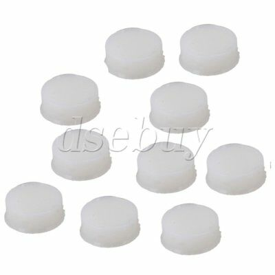 10pcs Flute Open Hole Plugs Silicone Flute Repair Parts Woodwind Parts