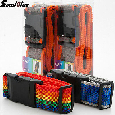 Personalised Colorful Luggage Strap Belt Secure Durable for Travel Suitcase Bagg