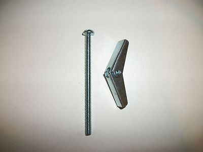 "3/16"" X 3"" Flat Head Butterfly Anchors Oty:40+"