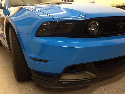 10-14 Ford Mustang Lamin-X Smoke Headlight Precut Tint Cover Smoked Overlays