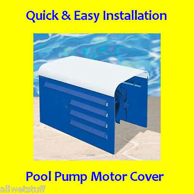 Pump & Spa Motor Cover pool Swim easy install protect Sprinkler irrigation