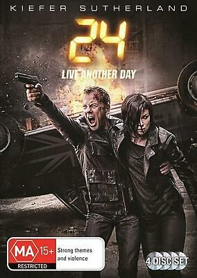 24 - Live Another Day: Season 9 - DVD Region 4 Free Shipping!