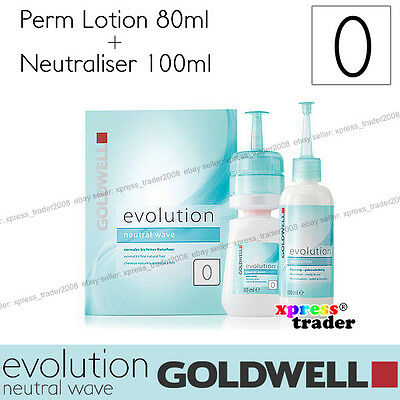 "Goldwell Evolution Perm Neutral Wave Lotion ""Type 0"" For resistant natural hair"