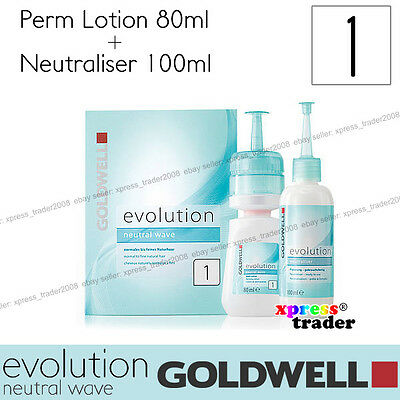 """Goldwell Evolution Perm Neutral Wave Lotion """"Type 1"""" For normal to fine natural"""