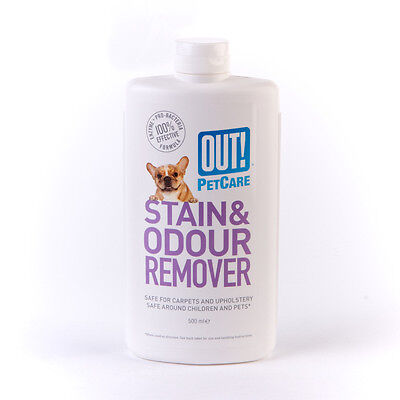 OUT! Stain and Odour Remover - 500ml (1)