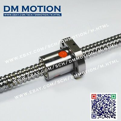 SBR16 -300mm +SBR16UU Linear rail support and block +1605 -L300mm Ballscrew
