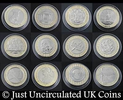 Brilliant Uncirculated Rare Two Pound Coins £2 1986 to 2019 - Various Years