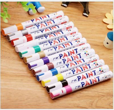 AU SELLER ~ Paint Waterproof Marker Pen for Scrapbook Deco Card Making Tyre