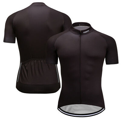 Mens Bicycle Cycling Sports Clothing Short Sleeve Top Shirt Jersey Riding Gear