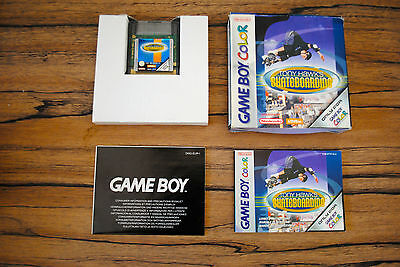 Jeu TONY HAWK'S SKATEBOARDING (boite d'origine) pour Nintendo Game Boy Color